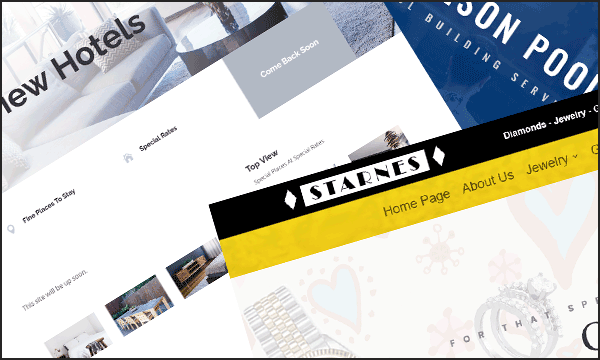 Website design examples
